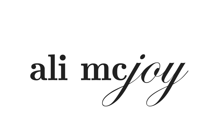Ali McJoy